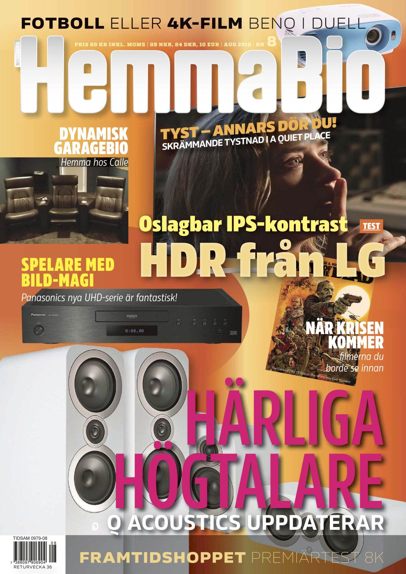 Hemmabiotidningen Nr 8 2018